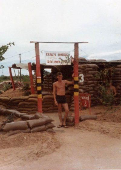Rundu base during the Border War - Crazy Horse Saloon